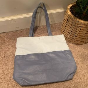 Cole haan two toned blue purse